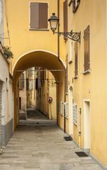 Archway on Street, Reggio Emilia, Italy