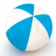 Toy beach ball