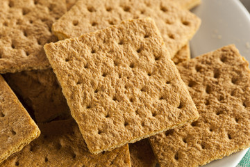 Healthy Honey Graham Crackers