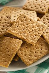 Healthy Honey Graham Crackers