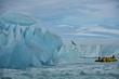 Giant Iceberg and Glacier in Nordaustlandet, Svalbard