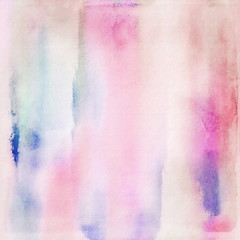 Abstract colorful watercolor background, grunge paper texture