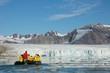 July 14 Glacier in Svalbard