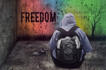 Freiheit ausmalen