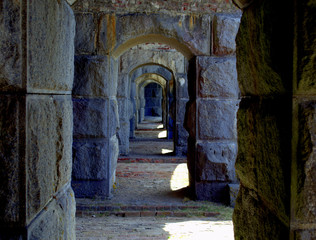 Fort Popham Pippsburg Maine USA