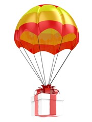 Gift and parachute