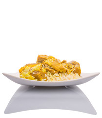 Lamb Kabsa Rice, a Middle Eastern popular cuisine