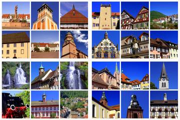 Schwarzwald:FREUDENSTADT+WOLFACH+TRIBERG+HASLACH/HAUSACH