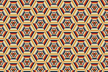 Hexagonal Print Design