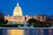 US Capitol Building dusk - 64227925