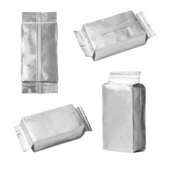 set of aluminum bags