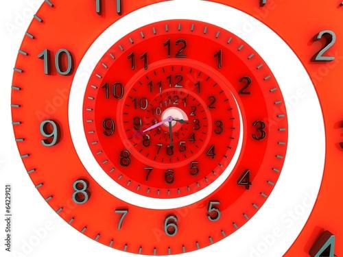 Leinwanddruck Bild Time concept.