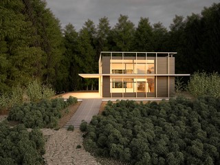 Modern House in Forrest