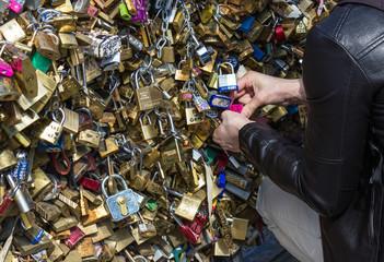 Parigi, pont de arts