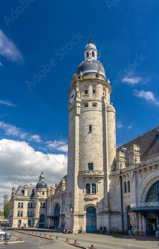 Fotobehang Treinstation Gare de La Rochelle - France, Poitou-Charentes
