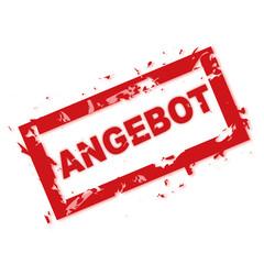 ANGEBOT Stempel