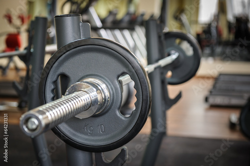 Foto op Plexiglas Fitness Barbell ready to workout