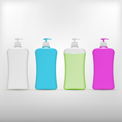 Illustration of liquid soap