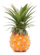 Pineapple tropical fruit or ananas