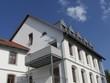 Seitlicher Balkon an einem Altbau in Oerlinghausen bei Bielefeld
