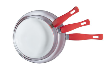 Frying Pan Set - Stock Image