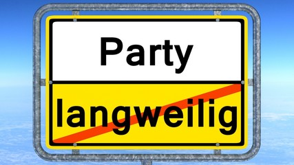 party - langweilig