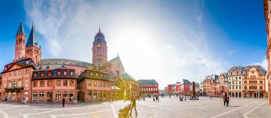 Dom und Domplatz, Mainz