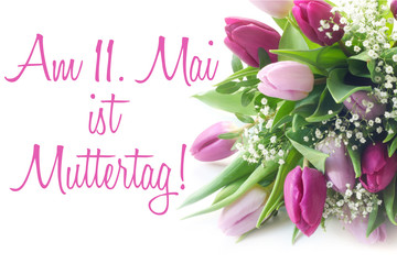Am 11. Mai ist Muttertag!