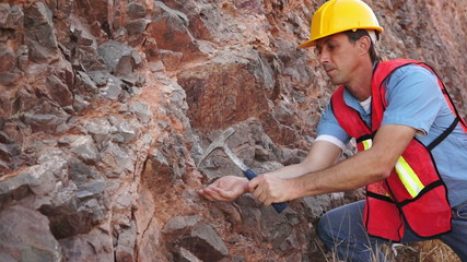 Industrial Mining Rock Chipping Male