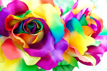 fake rose flower