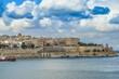 Valletta south waterfront in Malta