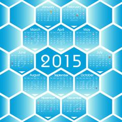 Vector 2015 calenda