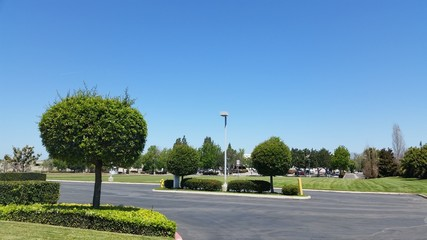 Business park drive in city of Camarillo, CA