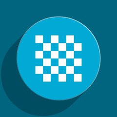chess flat vector icon