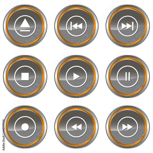 Player icons set