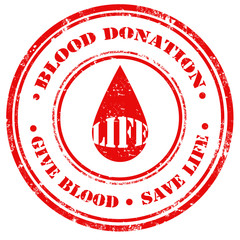 Blood Donation-stamp