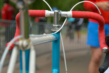 Fahrrad bei Triathlon