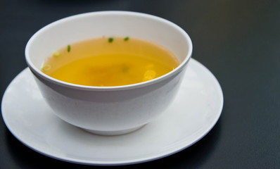 Hot Soup for You to Sip after Meal