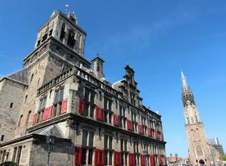 Raadhuis Nieuwe Kerk Delft Nederland