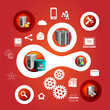 Enterprise applications and infographics