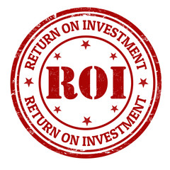 Return on investment stamp