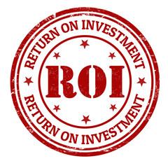 Return on investment stamp