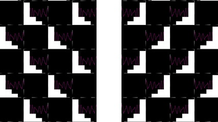 эффект цветных  квадратов