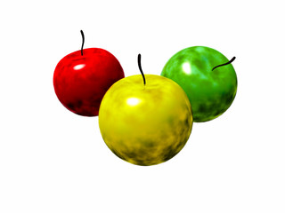 Radioactive apples