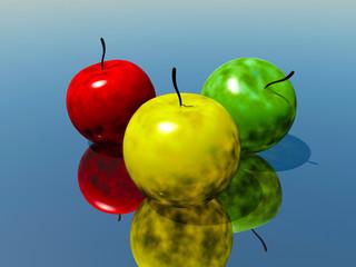 放射性りんご