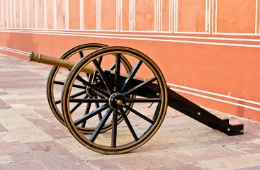 Cannon in Jaipur City Palace