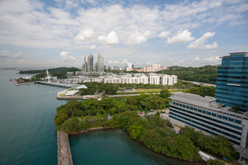 Residential areas of Singapore