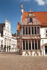 Rathaus von Lemgo an der Mittelstrasse