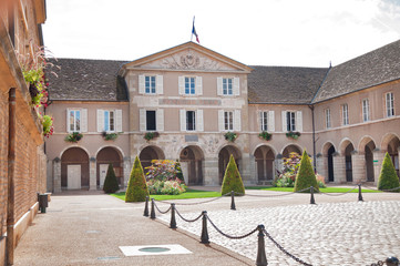 The Town-hall of Beaune, Burgundy, France