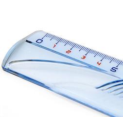 Règle millimétrée